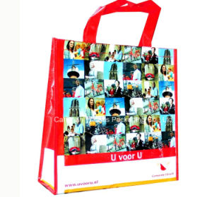 PP Woven Laminated Bag, Reusable Tote Bag with Cunstom Design pictures & photos