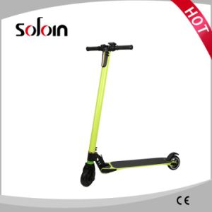 2 Wheel City Mobility Carbon Fiber/Alumium Alloy Balance Foldable Electric Scooter (SZE250S-6) pictures & photos