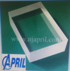 Rectangular Sapphire Crystal Thick Slab Glass, Optical Slab Glass pictures & photos