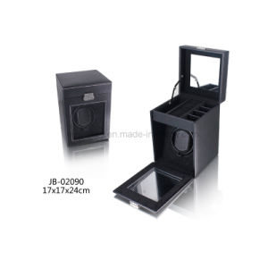 Wholesale Customized Single Automatic Watch Box PU Leather Watch Winder pictures & photos