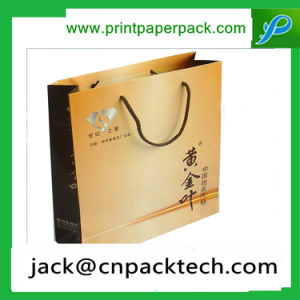 High Quanlity Custom Printing Logo Carboard Paper Bags pictures & photos