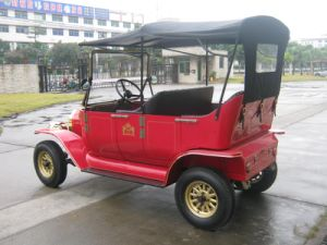 Top Quality AC Motor Pure Handmade Luxury Hotel Cart Electrical Retro Cars pictures & photos