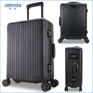 New Items Leisure 20′′ Womens All Aluminum Trolley Luggage pictures & photos