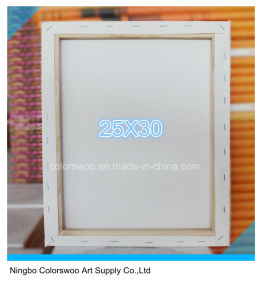 25*30cm Stretched Canvas for Painting and Drawing pictures & photos