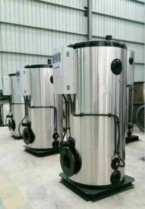 Hot Sale Light Diesel Oil Burner Vertical Steam Boiler pictures & photos