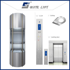 Mrl Machine Roomless Panoramic Lift for Shopping Mall pictures & photos