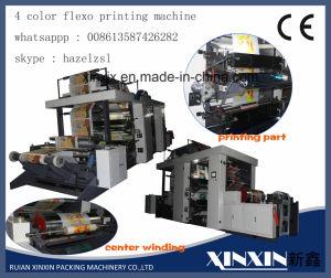 Butto Adjust Registration 4 Color Flexo Pritning Machine pictures & photos