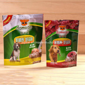 Stand up Packaging Bag with Zipper for Dog Food pictures & photos