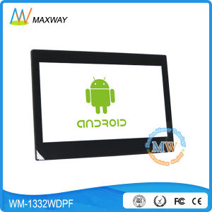 Android Wireless WiFi Video 13 Inch Digital Picture Frame for Retail Store pictures & photos