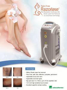 Alma Laser Hair Removal Pain Free 808nm Diode Laser Permanent Hair Removal Machine Price pictures & photos