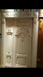 Popular Solid Wooden Exterior Door for Villa or Apartment (YMJ-201) pictures & photos
