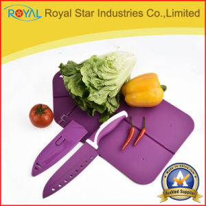 Top Quality 3PCS Knife Set with Cutting Board Kitchenware (RYST031C)