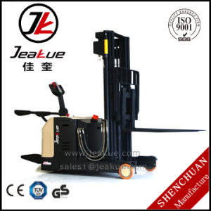 1.5ton Counterbalanced Battery Operated Powered Electric Stacker Price pictures & photos