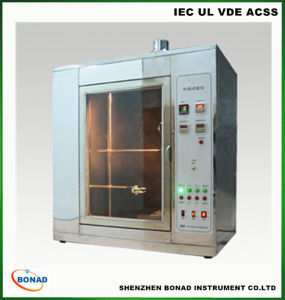 (IEC60695-11-5) Needle Flame Test Machine for Plastic Materials Testing pictures & photos