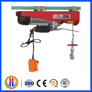 PA300 Portable Mini Wire Rope Electric Pull Hoist Price pictures & photos