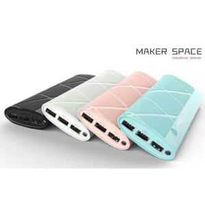 Portable 10000mAh Universal Battery Charger Power Bank with 3 USB pictures & photos