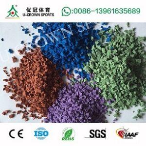 EPDM Granule Rubber Price, EPDM Rubber Granules, Polyurethane Binder Rubber Granule