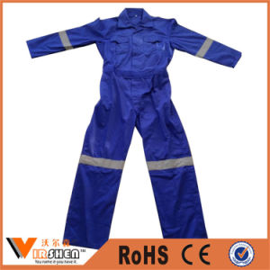 100% Polyester Reflective Overall Workwear Coverall pictures & photos