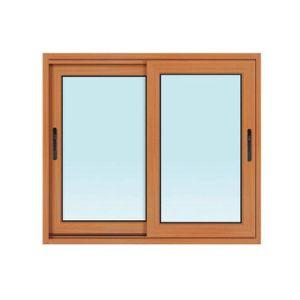 Powder Coated Double Glazing Aluminum Sliding Window pictures & photos