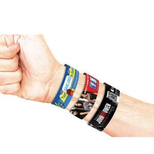 3/4 Silicone Wristband Bracelet Custom Logo pictures & photos