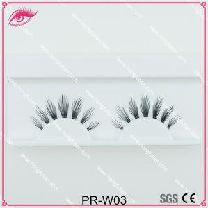 High Quality Natural False Eyelash Human Hair Eyelashes pictures & photos