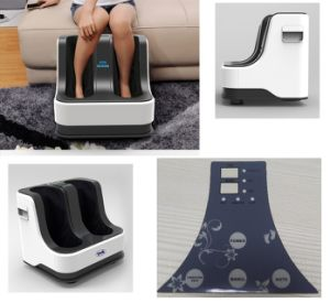 Multifunction Heat Kneading Rolling Leg Calf Foot Massager pictures & photos