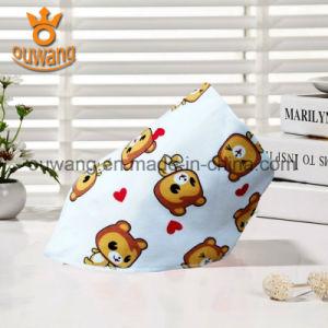 Infant Animal Waterproof Knitting Custom Print Baby Bandana Bibs pictures & photos