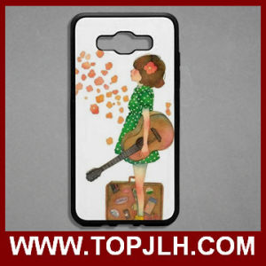 2D Sublimation Blank Cell Phone Case for Samsung J7 Silicone Case pictures & photos
