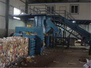 Hpa315 Horizontal Paper/Plastic Baler Machine pictures & photos