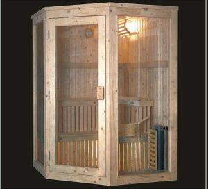 Solid Wood Infrared Sauna (AT-8601) pictures & photos