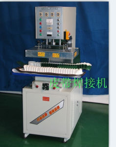 H. F. Welding Machine for PVC PU Cleat Sidewall and Guide Welding pictures & photos