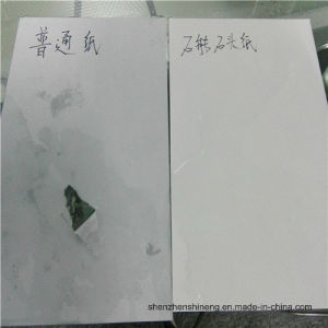 Water-Proof Stone Paper (RPD) Rich Mineral Paper Double Coated pictures & photos