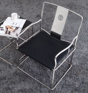 Modern Furniture Stainless Steel Arm Chair (K10) pictures & photos