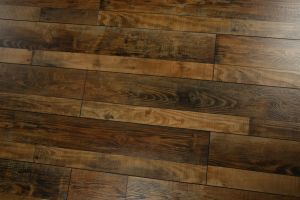 Eir Black V-Groove Lamiante Floor pictures & photos