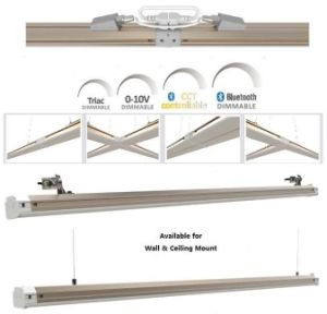 45W 1.2m Bluetooth Dimmable Linear Lighting for Free Connection with ETL and Dlc pictures & photos