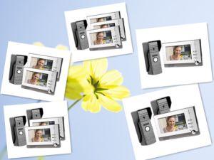 "7"" Color Video Door Phone Intercom Monitor Kit IR Night Vision Camera Doorbell pictures & photos"