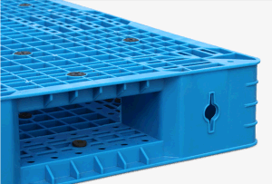 1100*1100*150mm Plastic Pallet Heavy Duty Static 6t Grid Double Deck Rackable Plastic Tray for Warehouse Storage (ZG-1111) pictures & photos