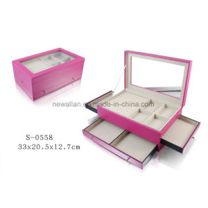 Handmade Display Gift Packing Storage Beauty Jewelry Case Jewellery Box pictures & photos