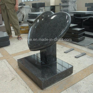 G654 Grey Granite Cushion Heart Design Gravestone pictures & photos