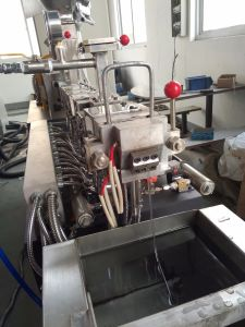 Manufacturer Plastic Granule Raw Material Machine for Color Masterbatch pictures & photos