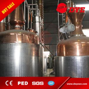 Red Copper Whiskey Brandy Vodka Gin Rum Still Distillery pictures & photos