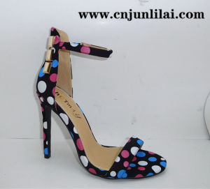 Women Shoes with Nice Dots Prints