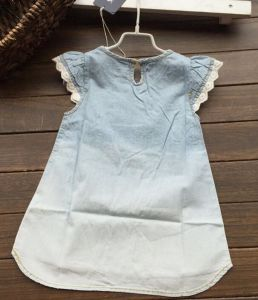 Ready Made Girl Jean Dress in Children Clothes pictures & photos