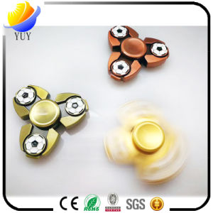 Hot Styles of Aluminum and Zinc Alloy Fingertip Gyro and Fidget Spinner and Hand Spinners with High Quality Metal Bearings pictures & photos
