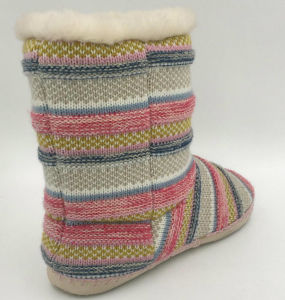 Womens Multi Knit MID-Calf Fashion Boots pictures & photos