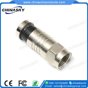 CCTV F Compression Connector for RG6 Cable (CT5063/RG6) pictures & photos