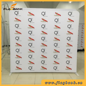 Advertising Banner 8FT Straight Tension Fabric Display Stand pictures & photos