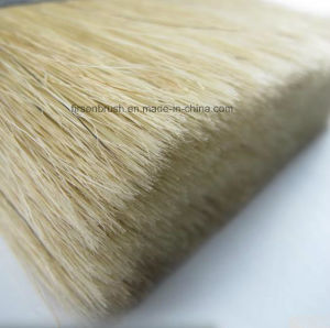 Natural White Bristle Ceiling Block Paint Brush with Wooden Handle pictures & photos