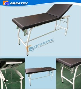 Simple Medical Manual Examination Couch pictures & photos