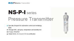 High Accuracy Pressure Sensor Transmitter Ns-P-I pictures & photos